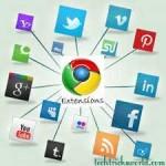 جوجل-كروم-ومواقع-التواصل-الاجتماعي